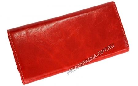 Кошелёк 9280J-ORANGE масляная кожа