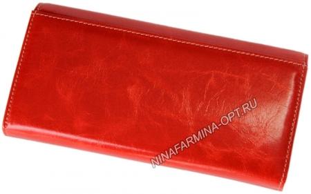 Кошелёк 9281J-ORANGE масляная кожа