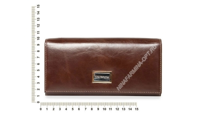 Кошелёк 9281J_Coffee-масляная-кожа