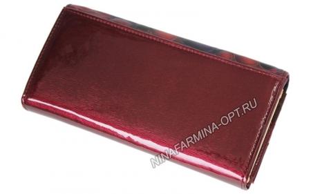 Кошелёк 9281K_Red Лакированная кожа