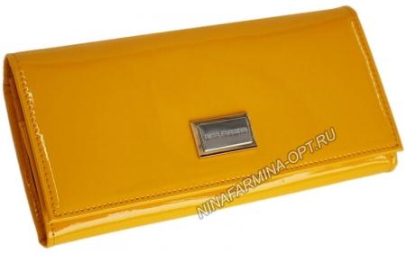 Кошелёк 9281_Yellow Лакированная кожа