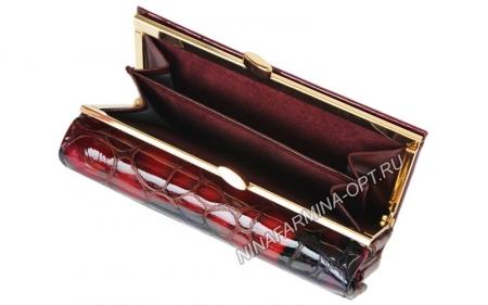 Кошелёк 9282K_Red Лакированная кожа