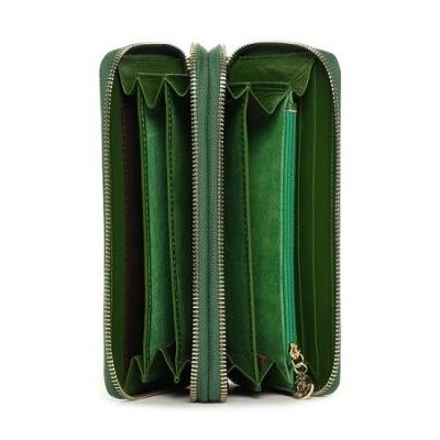 Кошелёк NF 9285-1J Dark Green масляная кожа