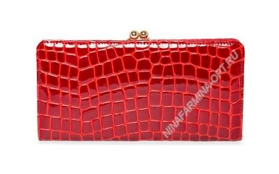 Кошелёк 9295_094 натуральная-кожа-крокодила-с-тиснением