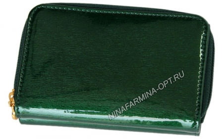 Кошелёк 9312K_Green Лакированная кожа