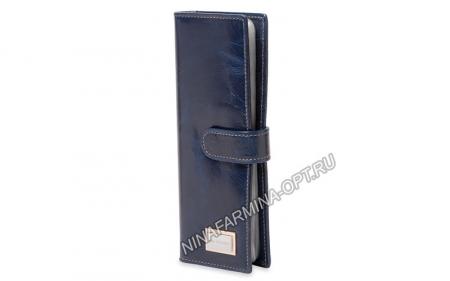 Визитница из Масленой кожи NF-9284J-DARK-BLUE