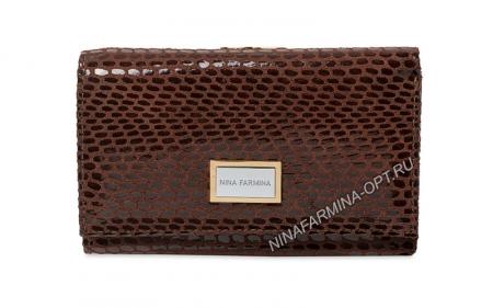 Кошелёк nf-9282-121 фактурная кожа