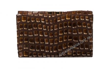 Кошелёк nf-9282-126 фактурная кожа