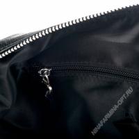 Дорожная сумка кожаная 820-2-black