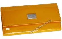 Кошелёк 9280_Yellow Лакированная кожа