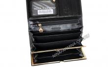 Кошелёк 9281J_Black масляная кожа