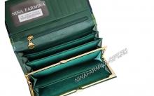 Кошелёк 9281K_Green Лакированная кожа