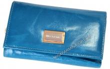 Кошелёк 9282J_Sky_Blue масляная кожа