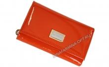 Кошелёк 9282_Orange Лакированная кожа
