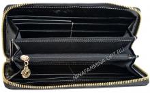 Кошелёк 9285J_Black масляная кожа