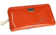Кошелёк 9285_Orange Лакированная кожа