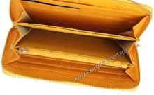 Кошелёк 9285_Yellow Лакированная кожа