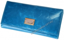 Кошелёк 9287J_Sky_Blue масляная кожа