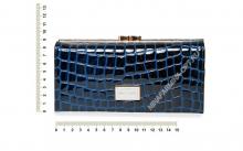 Кошелёк 9287_095 натуральная-кожа-крокодила-с-тиснением