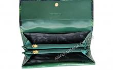 Кошелёк 9310K_Green Лакированная кожа