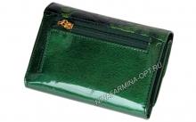 Кошелёк 9311K_Green Лакированная кожа