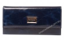Кошелёк NF-9280J-DARK-BLUE масляная кожа