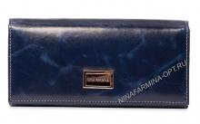 Кошелёк NF-9281J-DARK-BLUE масляная кожа