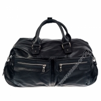 Дорожная сумка кожаная hugo-boss-320365-black