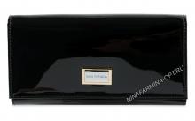 Кошелёк nf-9281-030-black Лакированная кожа