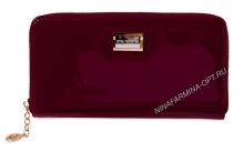 Кошелёк nf-9285-026-red Лакированная кожа