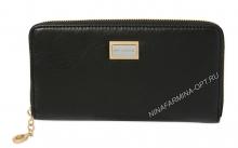 Кошелёк nf-9285m-black масляная кожа