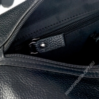 Дорожная сумка кожаная xl8601-black