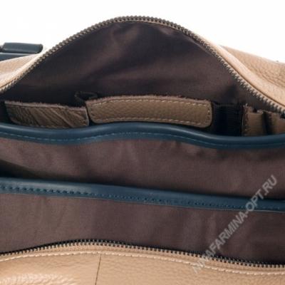 Дорожная сумка кожаная xl8599-apricot