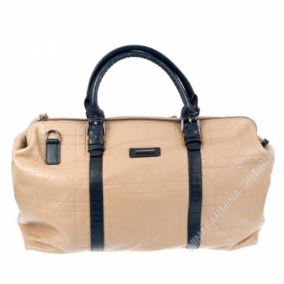 Дорожная сумка кожаная xl8600-apricot-grey
